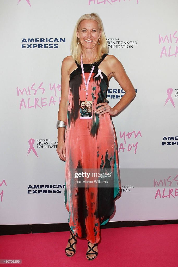 Kerri Pottharst arrives at the 'Miss You Already' Gala premiere at the State Theatre on September 30, 2015 in Sydney, Australia.