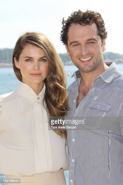 "Kerri Russel and Matthew Rhys attend "" The Americans"" Photocall as part of MIPCOM 2012 at Hotel Majestic on October 8, 2012 in Cannes, France."