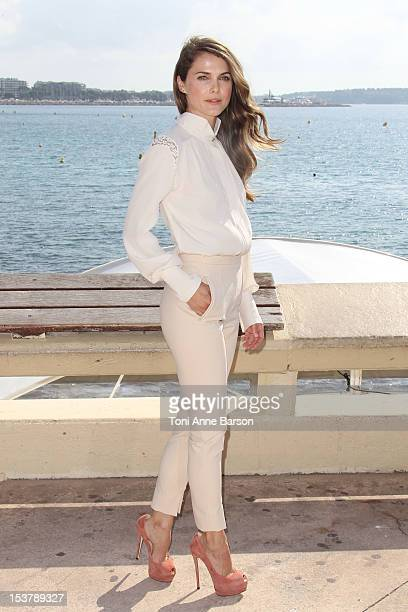 Kerri Russell attends The Americans Photocall as part of MIPCOM 2012 at Hotel Majestic on October 8 2012 in Cannes France