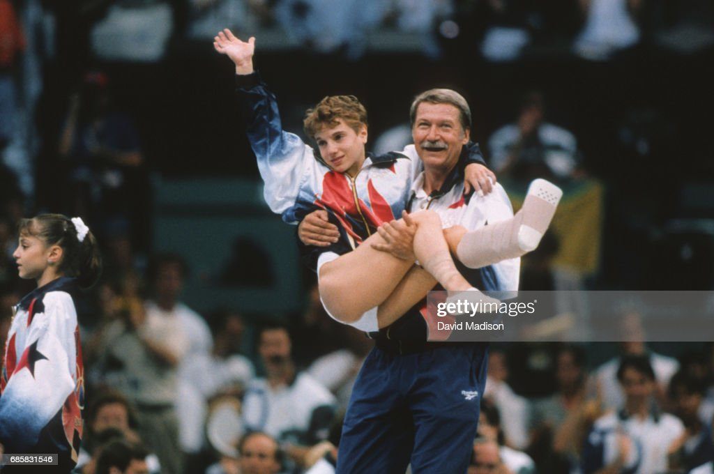 1996 Olympics - Women's Gymnastics Team Competition : News Photo