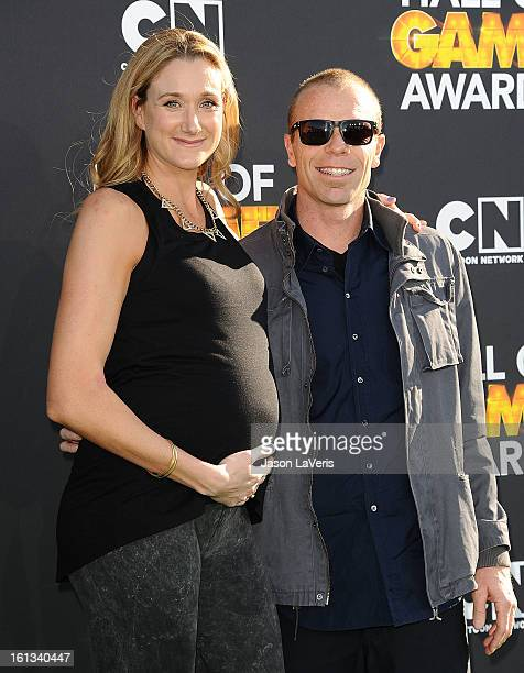Kerri Walsh and Casey Jennings attend the Cartoon Network 3rd annual Hall Of Game Awards at Barker Hangar on February 9 2013 in Santa Monica...
