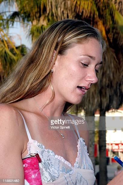 Kerri Walsh during Heal The Bay Charity Fundraiser June 3 2004 at Santa Monica Pier in Santa Monica California United States