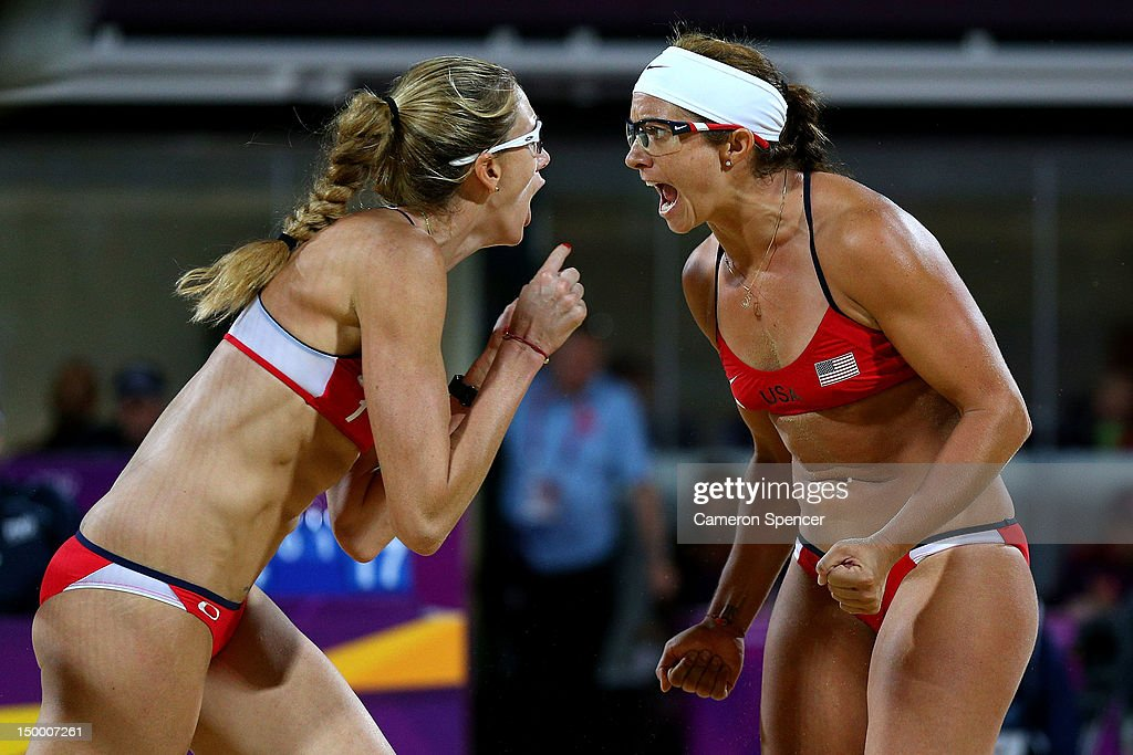 Olympics Day 12 - Beach Volleyball