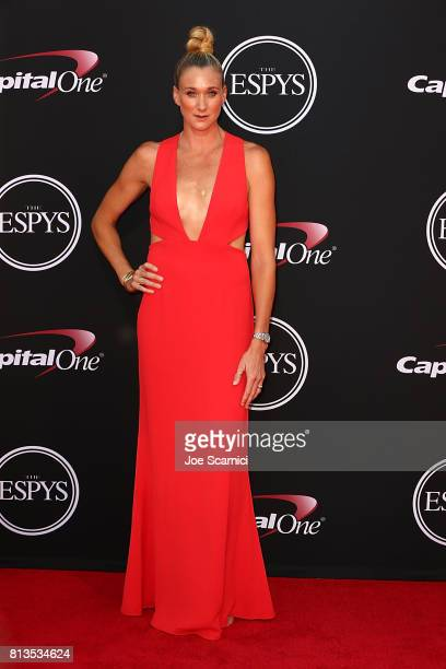 Kerri Walsh Jennings arrives at the 2017 ESPYS at Microsoft Theater on July 12 2017 in Los Angeles California