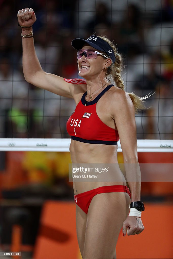 Beach Volleyball - Olympics: Day 9