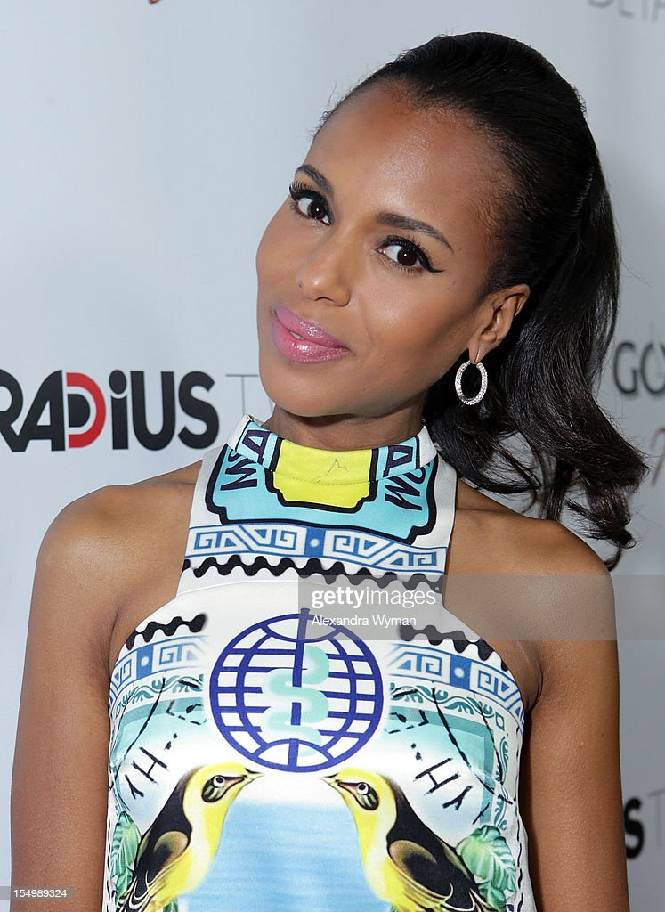 Kerri Washington at RADiUS-TWC 'he Details' Premiere hosted by GREY GOOSE Vodka held at The ArcLight Cinemas on October 29, 2012 in Hollywood, California.