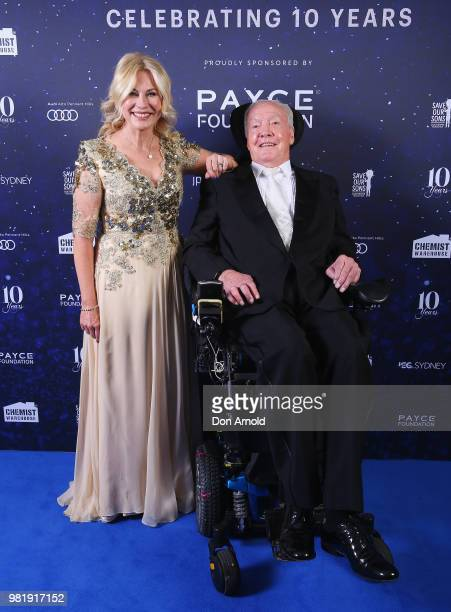 KerriAnne Kennerley and John Kennerley attend the Save Our Sons Sydney Gala Dinner at the ICC Sydney on June 23 2018 in Sydney Australia