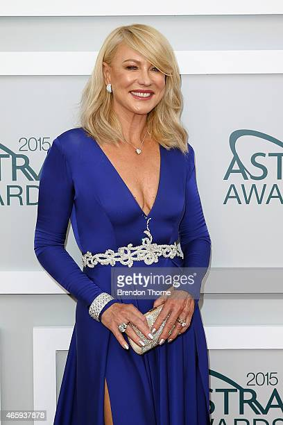 KerriAnne Kennerley arrives at the 2015 ASTRA Awards at the Star on March 12 2015 in Sydney Australia
