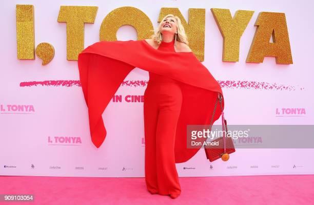 KerriAnne Kennerley arrives at the Australian Premiere of 'I Tonya' on January 23 2018 in Sydney Australia