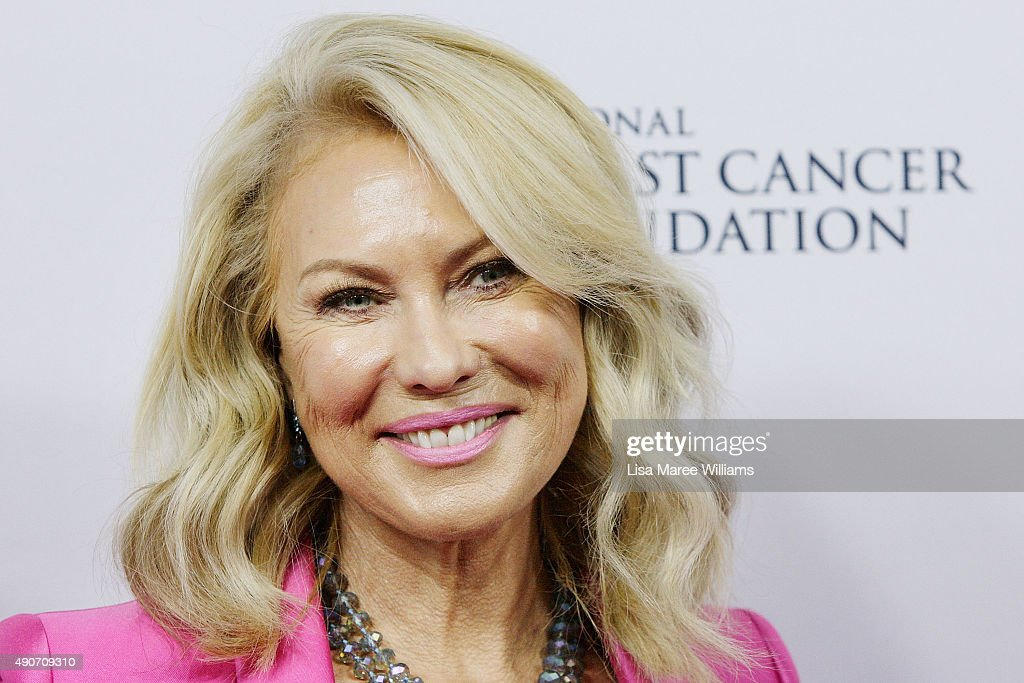 Kerri-Anne Kennerley arrives at the 'Miss You Already' Gala premiere at the State Theatre on September 30, 2015 in Sydney, Australia.