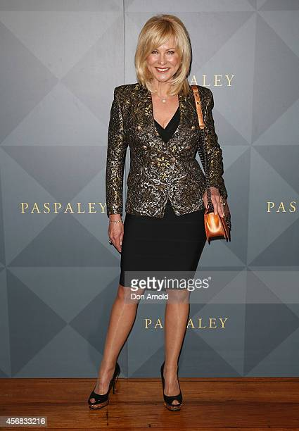 KerriAnne Kennerley arrives for the 2014 Touchstone by Paspaley Est Restaurant on October 8 2014 in Sydney Australia