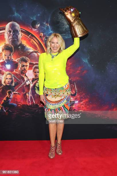 KerriAnne Kennerley attends the Avengers Infinity War Special Event Screening