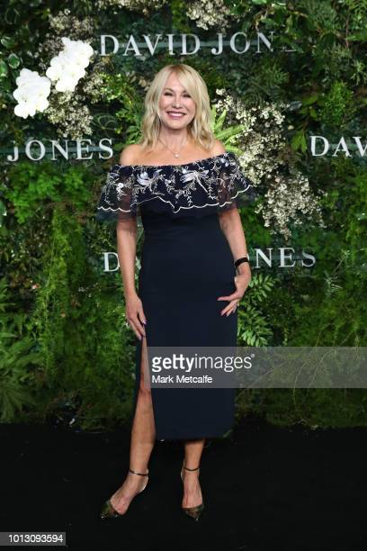 KerriAnne Kennerley attends the David Jones Spring Summer 18 Collections Launch at Fox Studios on August 8 2018 in Sydney Australia