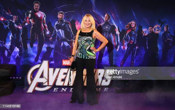 KerriAnne Kennerley attends the Sydney screening of Avengers End Game at Hoyts Entertainment Quarter on April 23 2019 in Sydney Australia