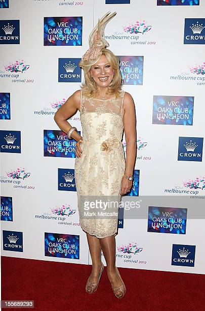 KerriAnne Kennerley attends the VRC Oaks Club Luncheon at Crown Palladium on November 7 2012 in Melbourne Australia