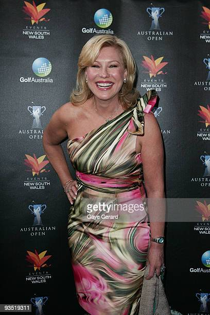 KerriAnne Kennerley poses during the Australian Open Gala Cocktail Function at the Sydney Opera House on December 1 2009 in Sydney Australia