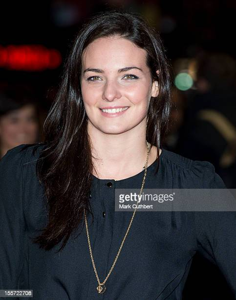 """Kerri-Anne Payne attends the World Premiere of """"Gambit"""" at Empire Leicester Square on November 7, 2012 in London, England."""