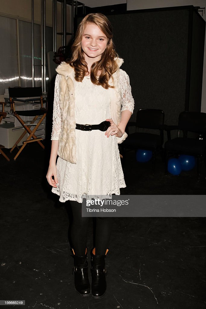 Kerris Dorsey attends the 2nd annual Dream Magazine winter wonderland event at TDJ Studios on November 18, 2012 in North Hollywood, California.