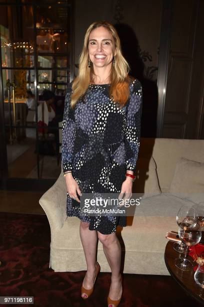 Kerry Bergin attends Christopher R King Debuts New Luxury Brand CCCXXXIII at Baccarat Hotel on June 5 2018 in New York City