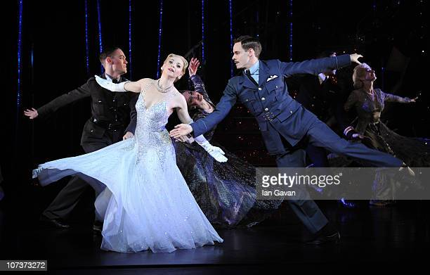 Kerry Biggin and Sam Archer perform on stage during a photocall for Matthew Bourne's Cinderella at Saddler's Wells on December 7 2010 in London...