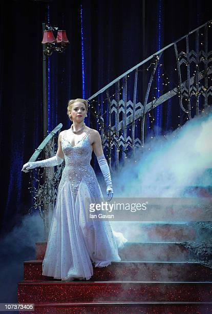 Kerry Biggin performs on stage during a photocall for Matthew Bourne's Cinderella at Saddler's Wells on December 7 2010 in London England