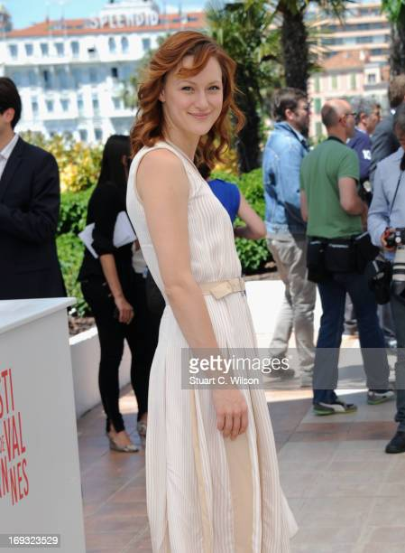 Kerry Bishe attends the 'Max Rose' photocall during The 66th Annual Cannes Film Festival at the Palais des Festivals on May 23 2013 in Cannes France