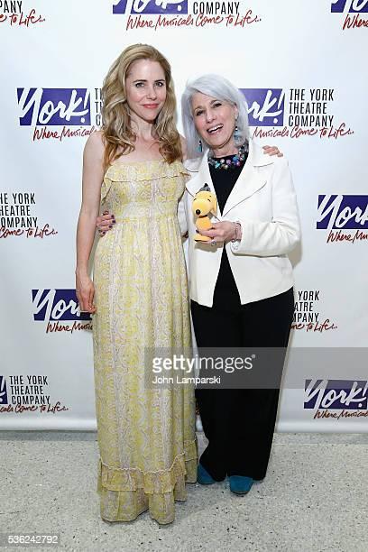 Kerry Butler and Jamie deRoy attend 'You're A Good Man Charlie Brown' opening night after party at Dylan's Candy Bar on May 31 2016 in New York City