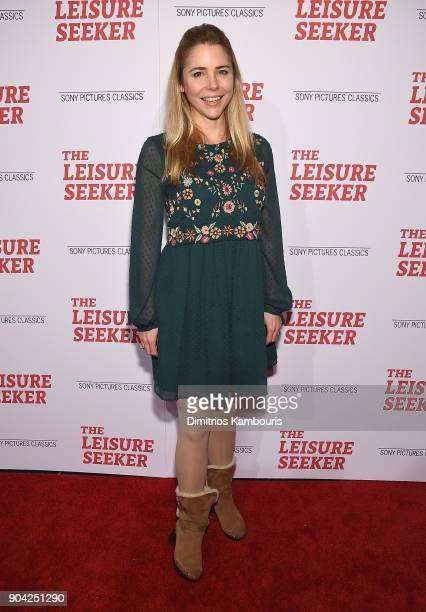 Kerry Butler attends 'The Leisure Seeker' New York Screening at AMC Loews Lincoln Square on January 11 2018 in New York City