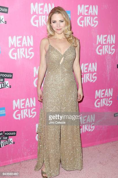 Kerry Butler attends the opening night after party for 'Mean Girls' on Broadway at TAO Downtown on April 8 2018 in New York City