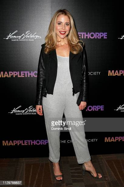 Kerry Butler attends the special screening of 'Mapplethorpe' hosted by Samuel Goldwyn Films with The Cinema Society at Cinepolis Chelsea on February...