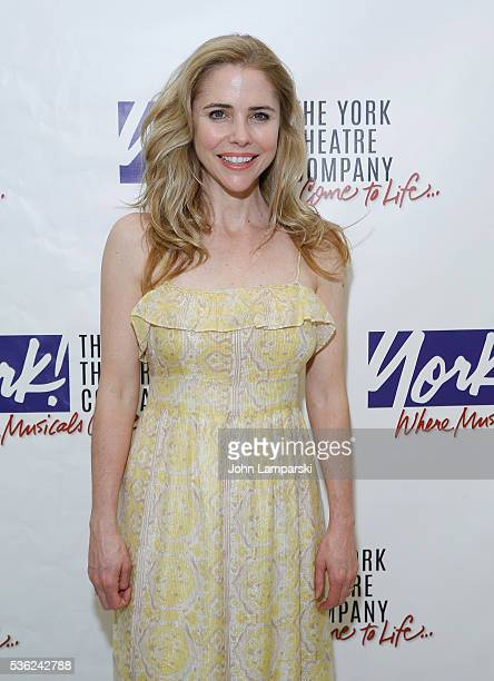 Kerry Butler attends 'You're A Good Man Charlie Brown' opening night after party at Dylan's Candy Bar on May 31 2016 in New York City