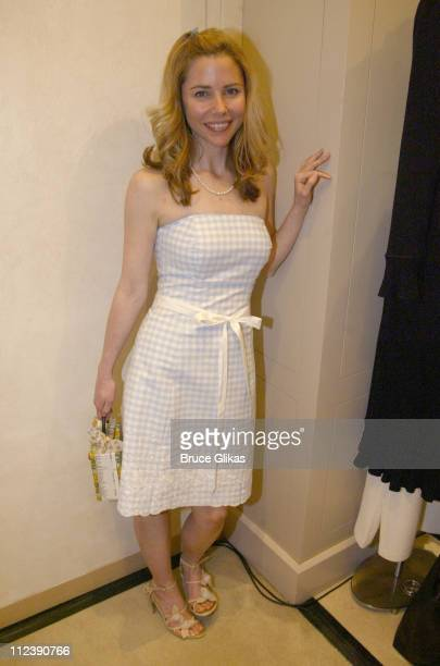 Kerry Butler during The Official Drama Desk Cocktail Party at St John Boutique in New York City New York United States