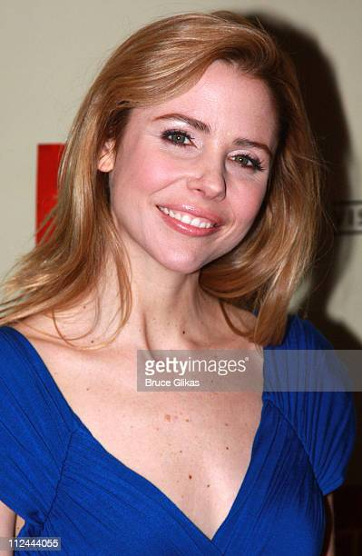Kerry Butler poses at The 2008 Visa Signature TONY Awards Preview Concert at Jazz at Lincoln Center's Allen Room on May 11 2008 in New York City