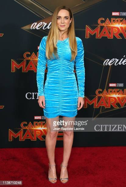 Kerry Condon attends Marvel Studios 'Captain Marvel' Premiere on March 04 2019 in Hollywood California