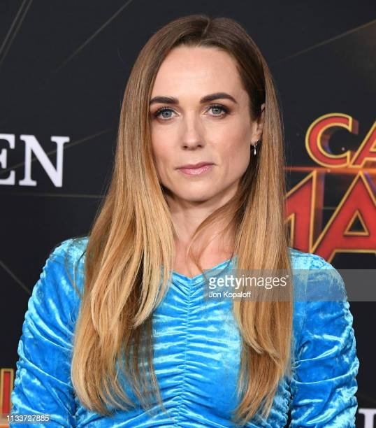 Kerry Condon attends Marvel Studios Captain Marvel Premiere on March 04 2019 in Hollywood California