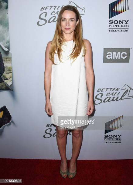 Kerry Condon attends the premiere of AMC's Better Call Saul Season 5 at ArcLight Cinemas on February 05 2020 in Hollywood California
