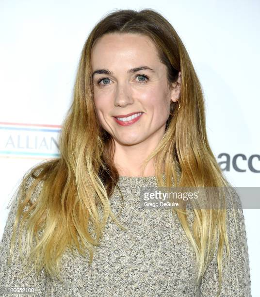 Kerry Condon attends the USIreland Alliance 14th Annual Oscar Wilde Awards at Bad Robot on February 21 2019 in Santa Monica California