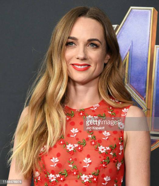 Kerry Condon attends the World Premiere Of Walt Disney Studios Motion Pictures Avengers Endgame at Los Angeles Convention Center on April 22 2019 in...