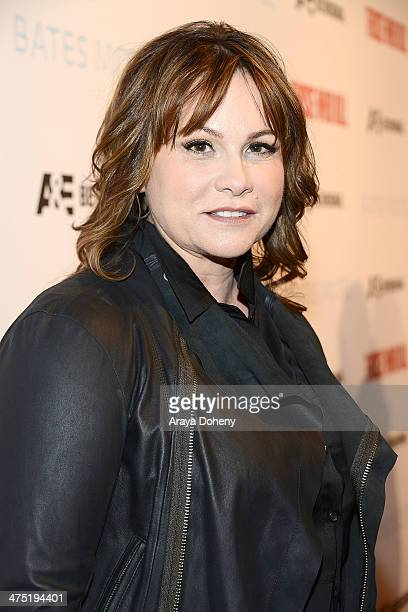 Kerry Ehrin attends AE's 'Bates Motel' and 'Those Who Kill' Premiere Party at Warwick on February 26 2014 in Hollywood California