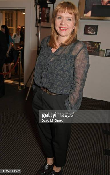 Kerry Godliman attends a special screening and QA for new Netflix series After Life at BAFTA on February 27 2019 in London England
