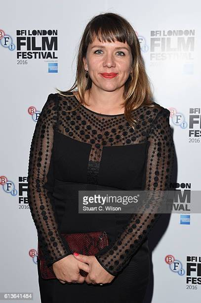 Kerry Godliman attends the Mascots screening during the 60th BFI London Film Festival at Picturehouse Central on October 9 2016 in London England