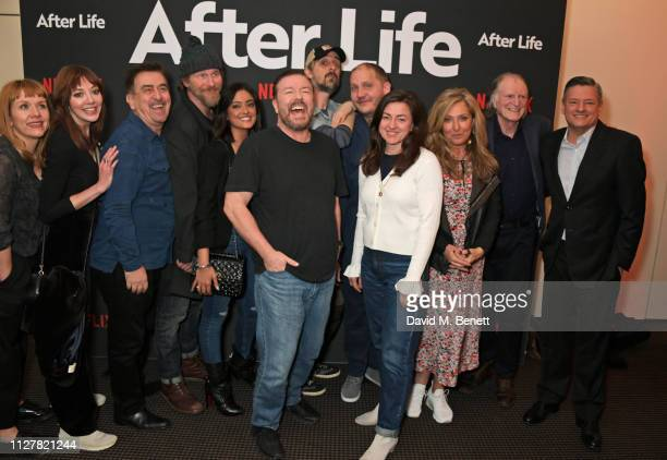 Kerry Godliman Diane Morgan guest Paul Kaye Mandeep Dhillon Ricky Gervais Tim Plester Jo Hartley Tony Way Tracy Ann Oberman David Bradley and Ted...