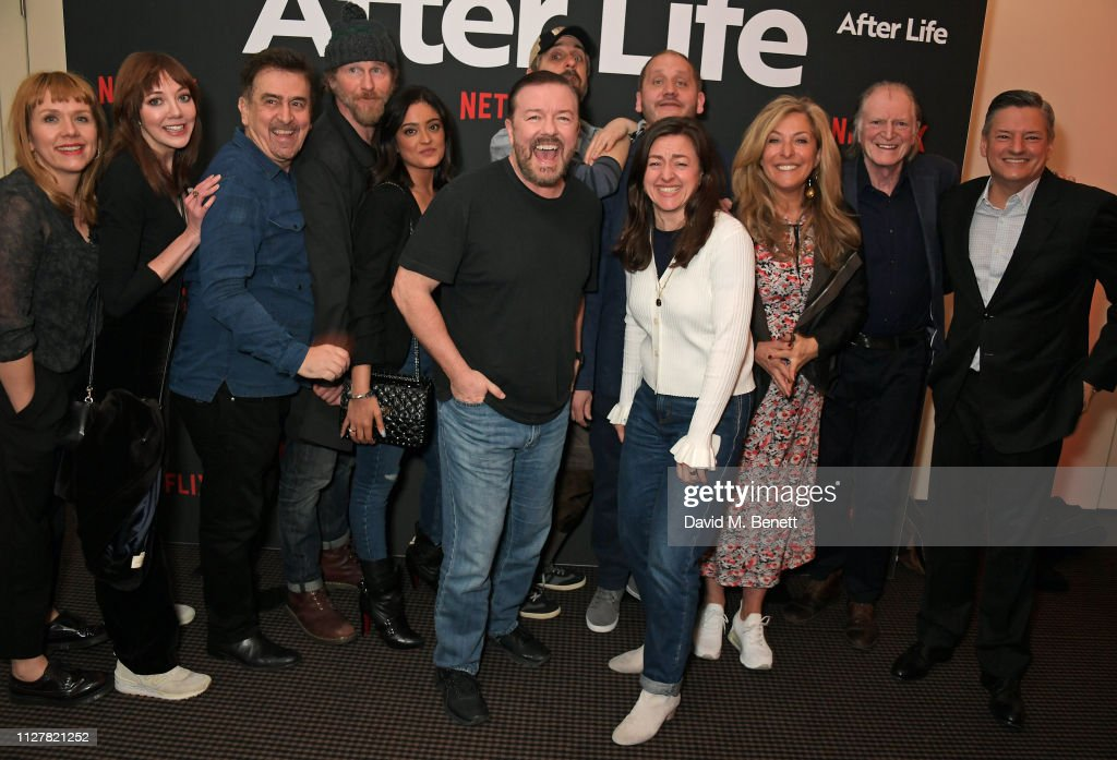 """New Netflix Series """"After Life"""" - Special Screening and Q&A - VIP Arrivals : News Photo"""