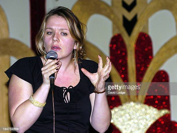 Kerry Godliman during Just The Tonic Comedy Night Launch Party at Madame JoJo's in London Great Britain