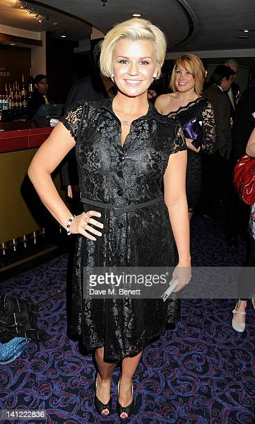 Kerry Katona arrives at the TRIC Television and Radio Industries Club Awards at The Grosvenor House Hotel on March 13 2012 in London England