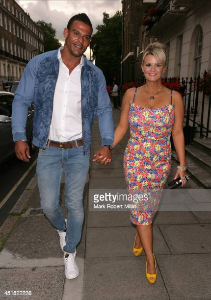 Kerry Katona attending the OK Magazine World Cup Summer BBQ on July 7 2014 in London England