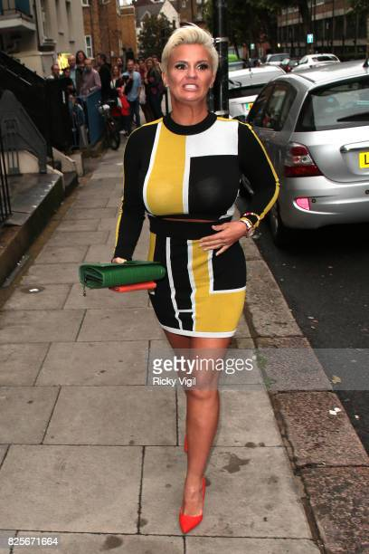 Kerry Katona attends Ester Dee All About the Beach launch party at The Directors Party Lounge on August 2 2017 in London England