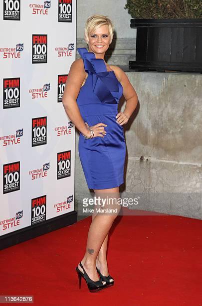 Kerry Katona attends party celebrating FHM Magazine's 100 Sexiest Women in the World 2011 at One Marylebone on May 4 2011 in London England