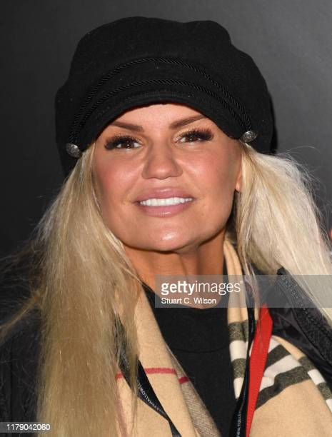 Kerry Katona attends Shocktober Fest 2019 at Tully's Farm on October 04 2019 in Crawley England