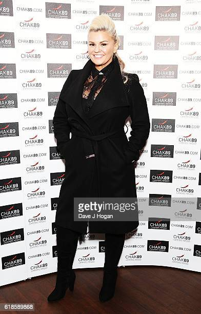 Kerry Katona attends the annual Elbrook Gala Dinner in aid of The British Asian Trust and their newly launched Give A Girl A Future appeal at Chak 89...